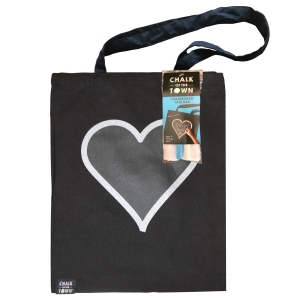Chalk of the Town Tote Bag Kit • Ages 4+ • $19.95