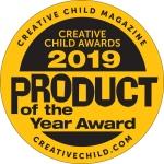 Creative Child Magazine Creative Child Awards 2019 Product of the Year award