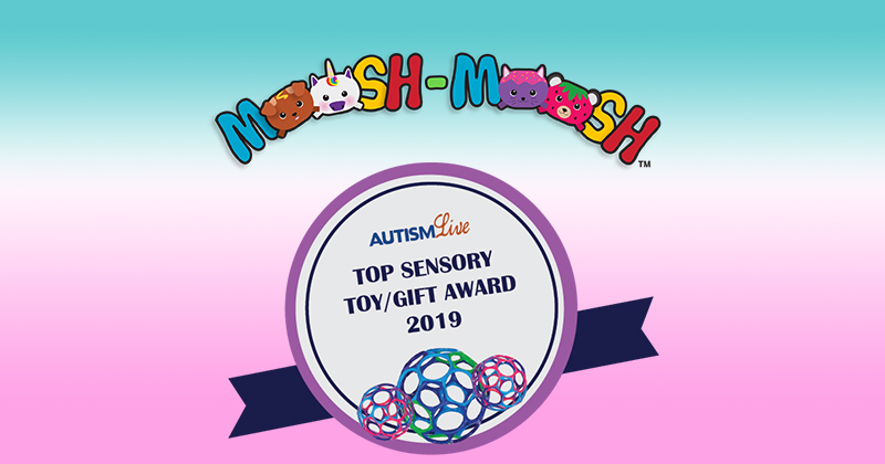 'AUTISM LIVE' NAMES MOOSH-MOOSH PLUSHIES THE TOP SENSORY TOY FOR 2019