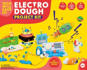 tech will save us-electro dough project kit