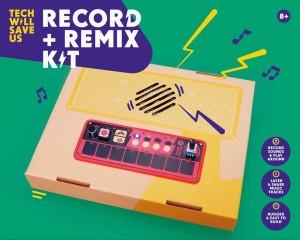 tech will save us-record-remix kit