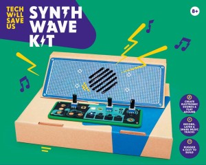 tech will save us-synth wave kit