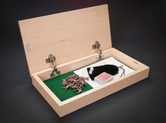 Horseracing Game • Maple $96 / Walnut $116 • Recommended Ages 13+