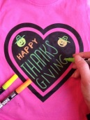 Chalk of the Town Thanksgiving