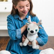NEW! Portable North Pole Hani Reindeer Plush • $19.99 (Exclusively at Barnes & Noble)