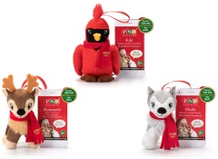 NEW! Portable North Pole Mini Plush Ornaments • $5.97 (Exclusively at Walmart)