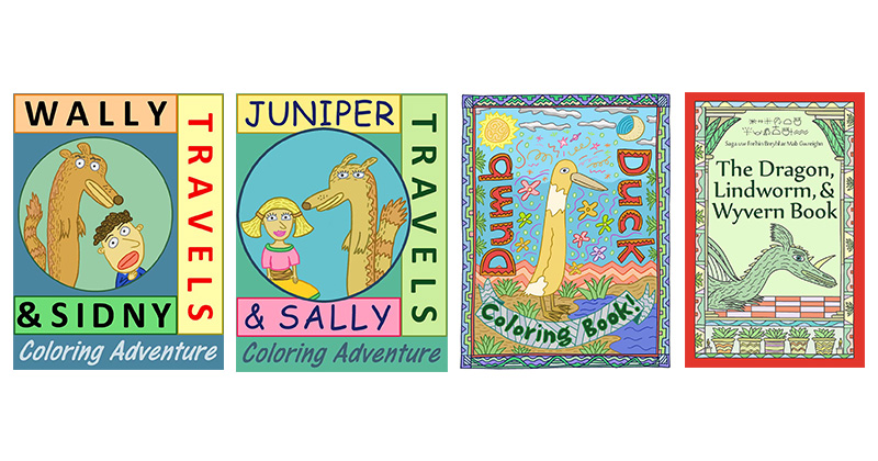 TEACHER KNOWS BEST! TWO MINI-NOVEL COLORING BOOKS SOLVE HOLIDAY SHOPPING FOR TEENS