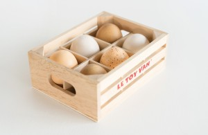 Farm Eggs – Half Dozen by Honeybake • Ages 3+ • $19.95