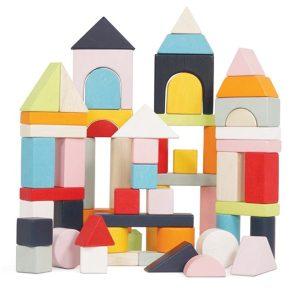 Building Blocks & Bag by Petilou • Ages 12 months + • $49.95