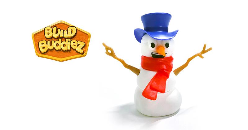 Build Buddiez™ Snowman • Ages 5+ • $3.95