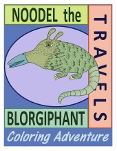 Noodel the Blorgiphant Travels Front Cover_LR