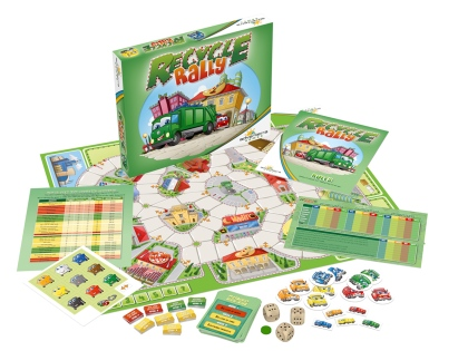 Recycle Rally • $24.95 • Ages 7+