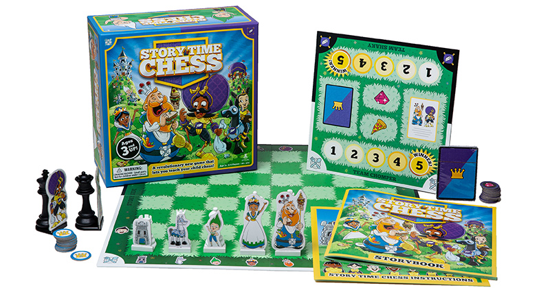 Story Time Chess • Ages 3+ (really!) • $49.99