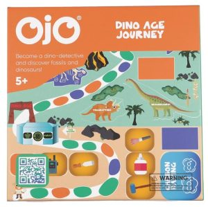 Dino Age Journey • Ages 5+ • $19.99