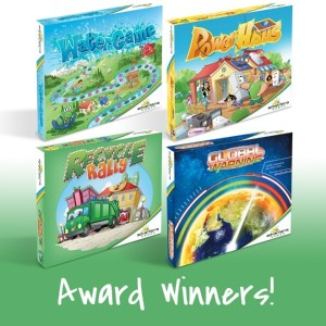 Four Board Games Amass An Overflowing Mantle Of Spring 2020 Honors From Mom's Choice, The National Parenting Center, Tillywig and PAL Awards