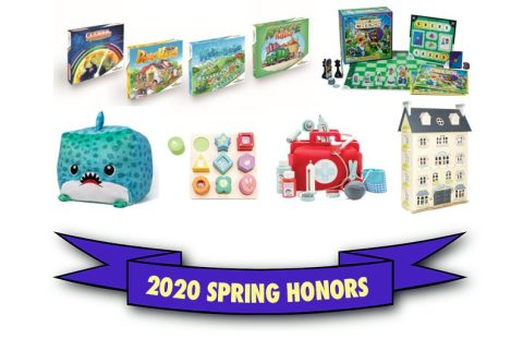 TOYS THAT SPARK IMAGINATION, TEACH LIFE SKILLS & SIMPLY SOOTHE CHOSEN FOR 2020 SPRING HONORS