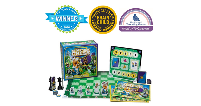 Checkmate! Story Time Chess Wows Spring 2020 Judges With Bold Characters, Thick Game Pieces And Ideal Story Length To Engage Tots, Tweens & Parents