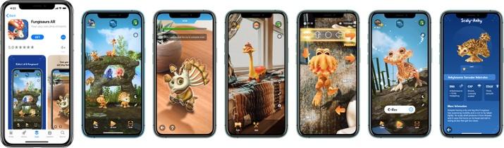 Fungisaurs AR for iOS