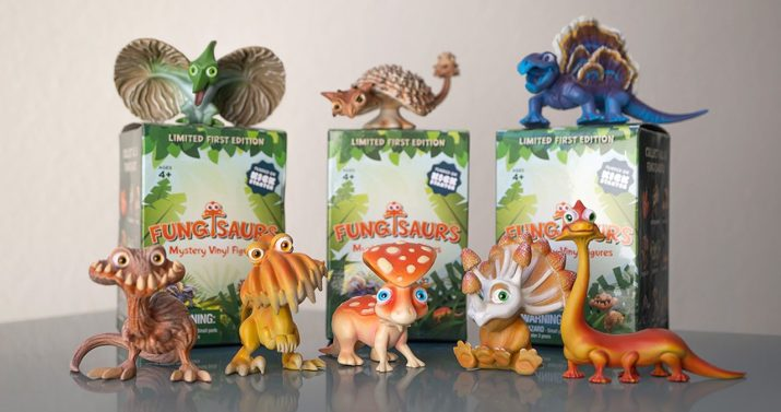 3-pack - Fungisaurs Mystery Box Collectible Toy – Series One • $30 • Ages 4+