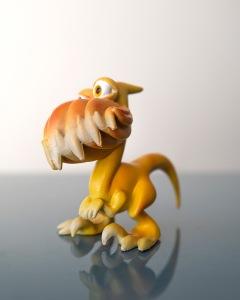 Chick-Rap is half Velociraptor and half Chicken of the Woods