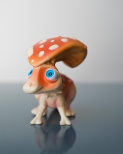 Paradots combines Parasauralophus with Fly Agaric