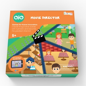 OjO Games Movie Director Math Game