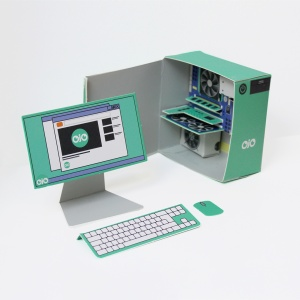 OjO Games PC Maker Paper Model Kit