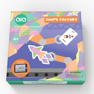 OjO Games Shape Factory Geometry Game