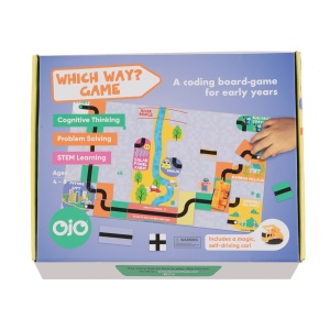 OjO Games Which Way? Coding Game – Future Cities Theme