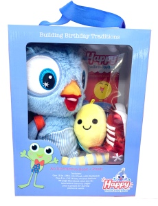 Happy The Birthday Bird • Ages 3+ • $39.99