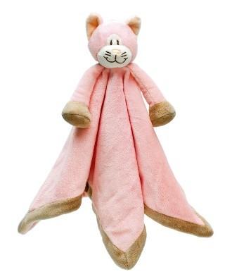 Pink cat blanket