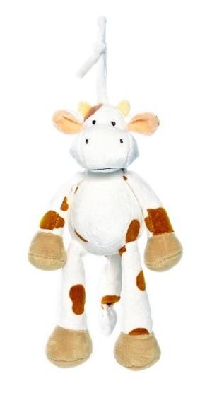 Cow musical plush