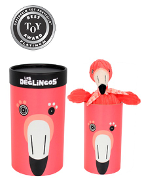 Les Déglingos Soft Toys in Tubes Collection • $19.99 • Ages Newborn and up