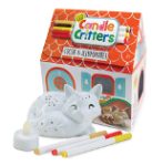 04-Bright Stripes-CAT-LED Candle Critters