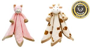 Teddykompaniet Cow Baby Comforter or Cat Baby Comforter • $14.99 • Ages Newborn and up