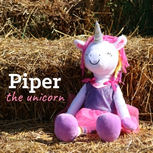 Piper the unicorn -from Sharewood Forest Friends