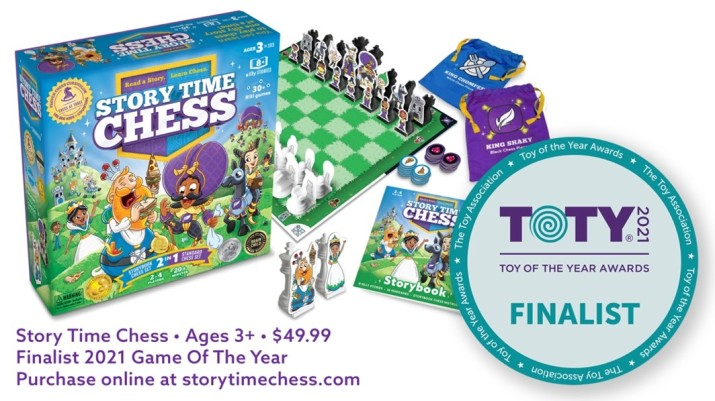 Story Time Chess-Finalist 2021 Game of the Year