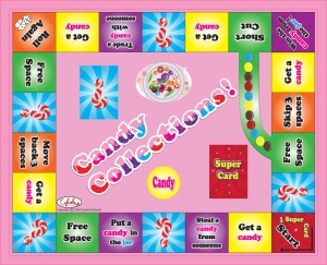 Candy Collections game board