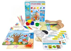 S.T.E.A.M. School Painting Science • Ages 4+ • $18.99