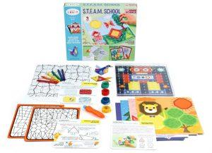 S.T.E.A.M. School Shape Science • Ages 4+ • $22.99