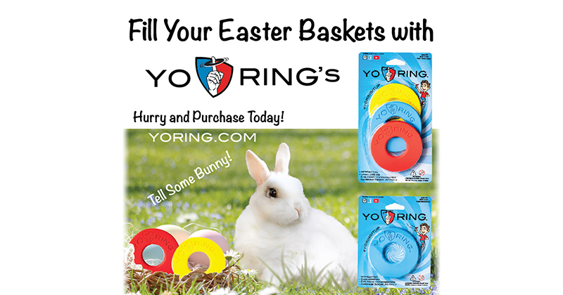 Yo Ring's Teen Toy Inventor Puts His Finger On The Perfect Calorie-Free Goodie To Get Kids Movin', No Matter Their Athletic Prowess
