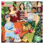 Piece & Love Jane Austen's Book Club 1000 Piece Jigsaw Puzzle