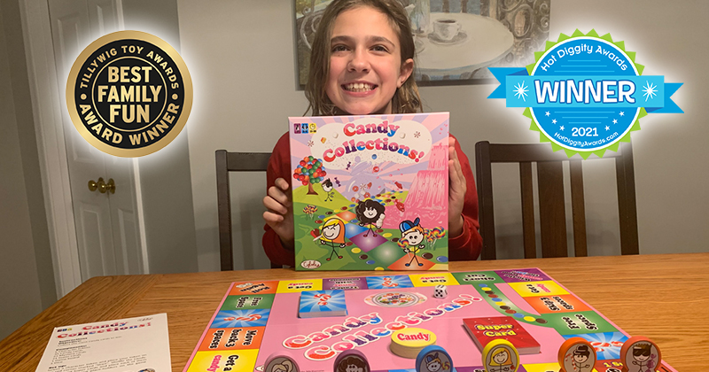 Candy Collections! 11-Year-Old Creator Wins Tillywig, Hot Diggity Awards And A Spotlight As Bloom Report's Person Of The Week
