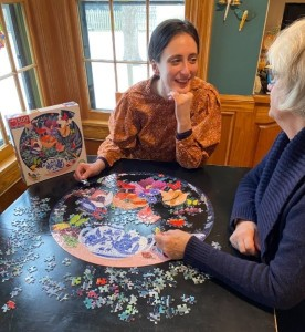 Giftwrap A Beautiful And Intelligent Puzzle For The Gardener, Traveler Or Birder To Create Special Memories With A Loved One In The Same Room Or from Afar