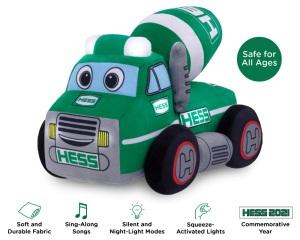 My Plush Hess Truck: 2021 Cement Mixer