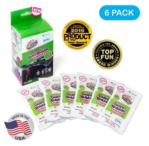 Giant Bubbles Powder 6-pack Refill
