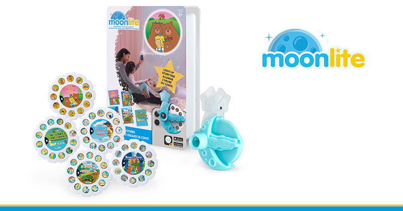 'READ ME A STORY' BECOMES A MAGICAL MOMENT TO TREASURE WITH MOONLITE STORYBOOK PROJECTOR