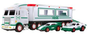Hess Toy Truck Miniature Toy Truck and Racers
