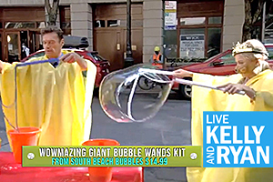 South Beach Bubbles featured on LIVE with Kelly and Ryan