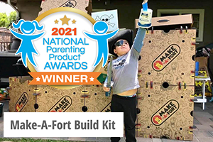 NAPPA features Make-A-Fort Build Kits